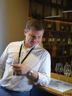 Wine tasting at Marchesi Antinori