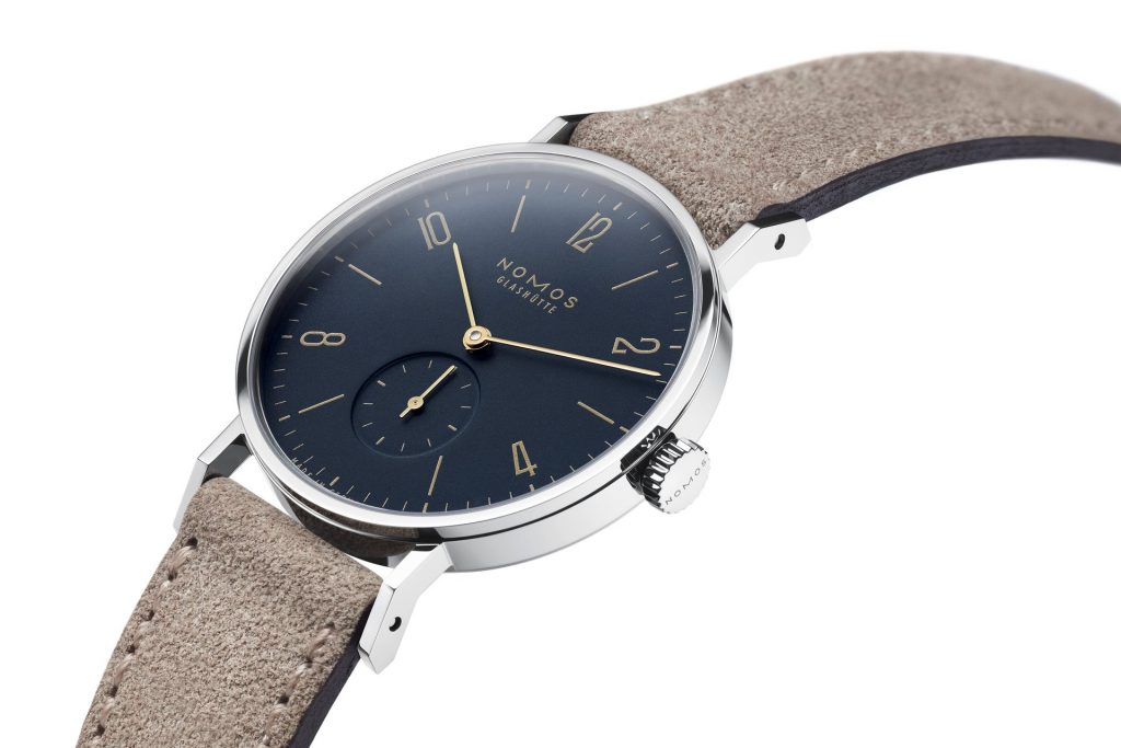Nomos Tangente midnight blue