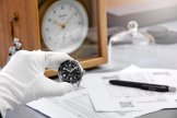 Synchronisation with Glashuette quarz chronometer