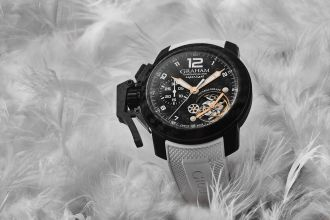 Graham Chronofighter Superlight Carbon Tourbillograph