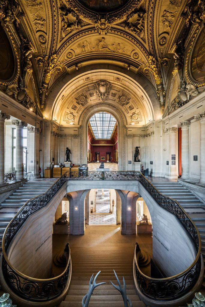 Escalier Mollien © 2013 Musée du Louvre (Olivier Ouadah)