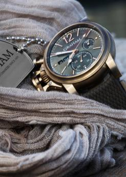 Graham Chronofighter Carrasqueira 32