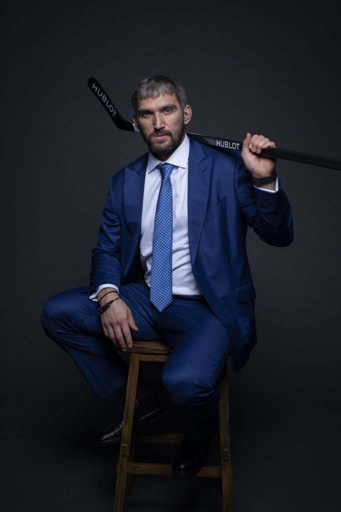 Hublot friend of the brand Alexander Ovechkin
