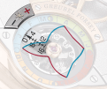 Red: The sun is ahead of solar mean time Blue: The sun is behind solar mean time