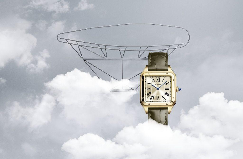 "Cartier ""La Baladeuse"" Santos-Dumont watch"
