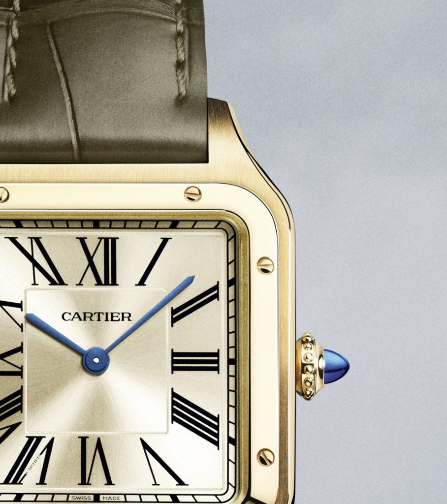 "Cartier ""La Baladeuse"" Santos-Dumont"