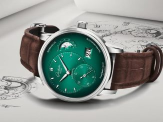 Glashütte Original PanoMaticLunar green