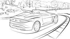 Line Drawing - Bacalar Exterior