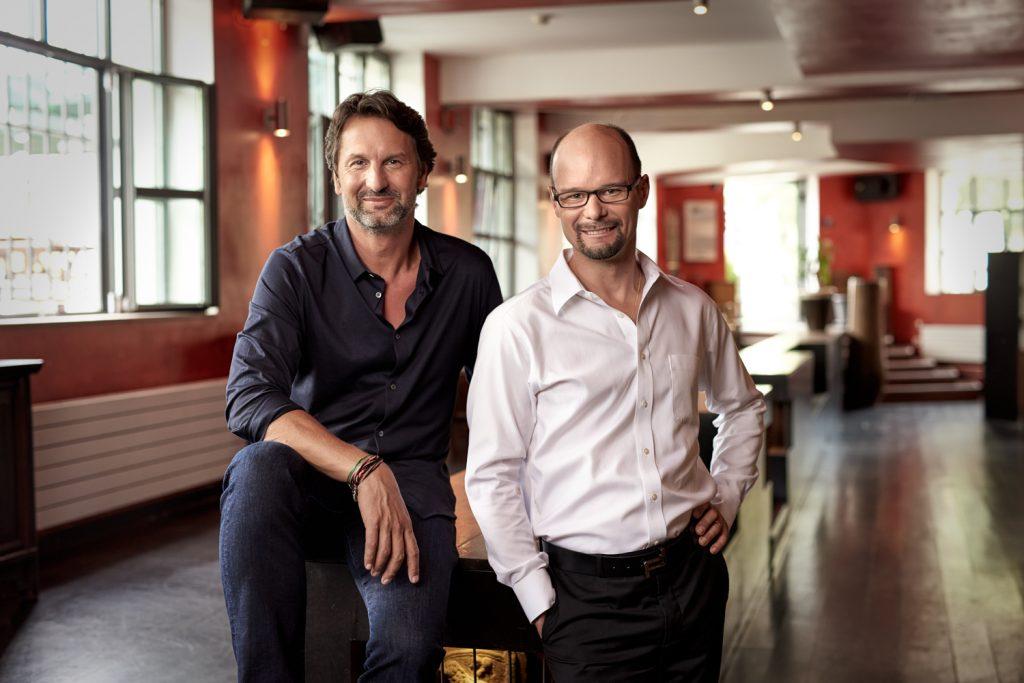 Max Busser and Arnaud Nicolas