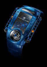 Christophe Claret X-TREM-1 Blue Damascus MTR.FLY11.180-188
