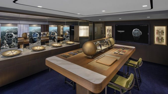Panerai Hong Kong Canton Road boutique