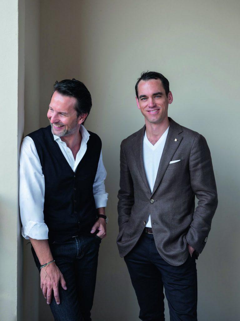 Maximilian Büsser and Edouard Meylan