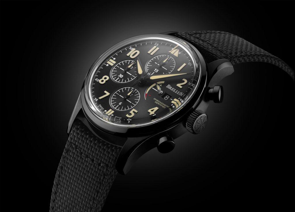 Brellum Pilot LE.1 Power Gauge Chronometer