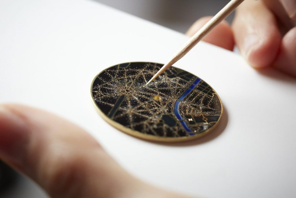 Vacheron Constantin Métiers d'Art Villes Lumières Tokyo