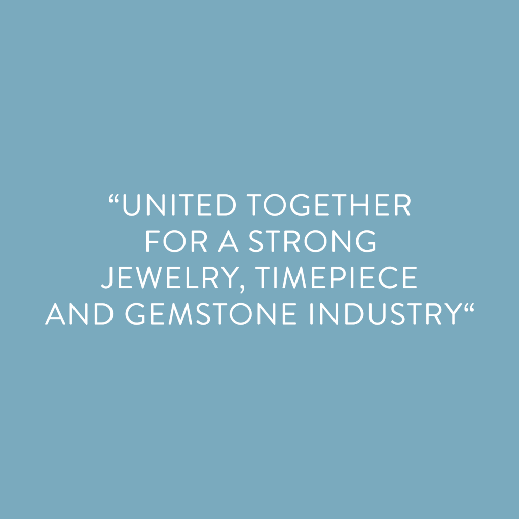 #inhorgenta2021 - United together for a strong jewelry, timepiece and gemstone industry