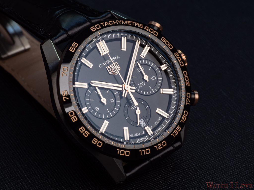 TAG Heuer Carrera Sport Chronograph 44 mm Calibre HEUER02 Automatic Reference CBN2A5A.FC6481