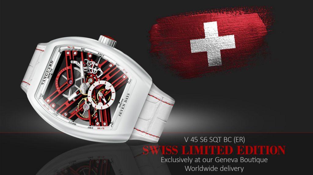 Franck Muller Vanguard Skeleton Swiss Limited Edition