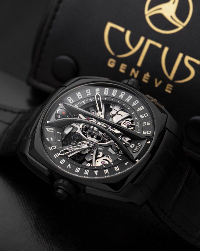 Cyrus Klepcys Vertical Skeleton Tourbillon