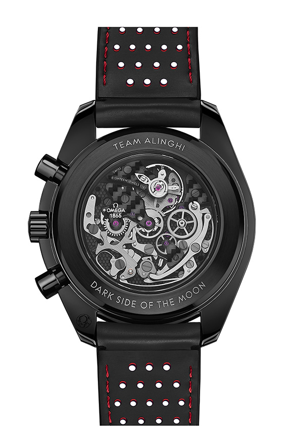 Omega Speedmaster Dark Side of the Moon Alinghi