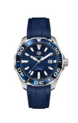TAG Heuer Aquaracer 43 mm Tortoise Shell EffectCalibre 5 Automatic in Blue