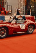 Ben Dahlhaus leaving the famous ramp of the 100 Miglia for the race (c) Adam Fussell