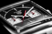 Swiss luxury watchmaker TAG Heuer presents three new Monaco models, the TAG Heuer Monaco Chronograph 39 mm Calibre Heuer 02 Automatic