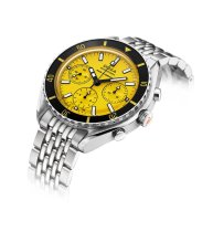 798.10.361.10 (yellow dial, stainless steel bracelet)