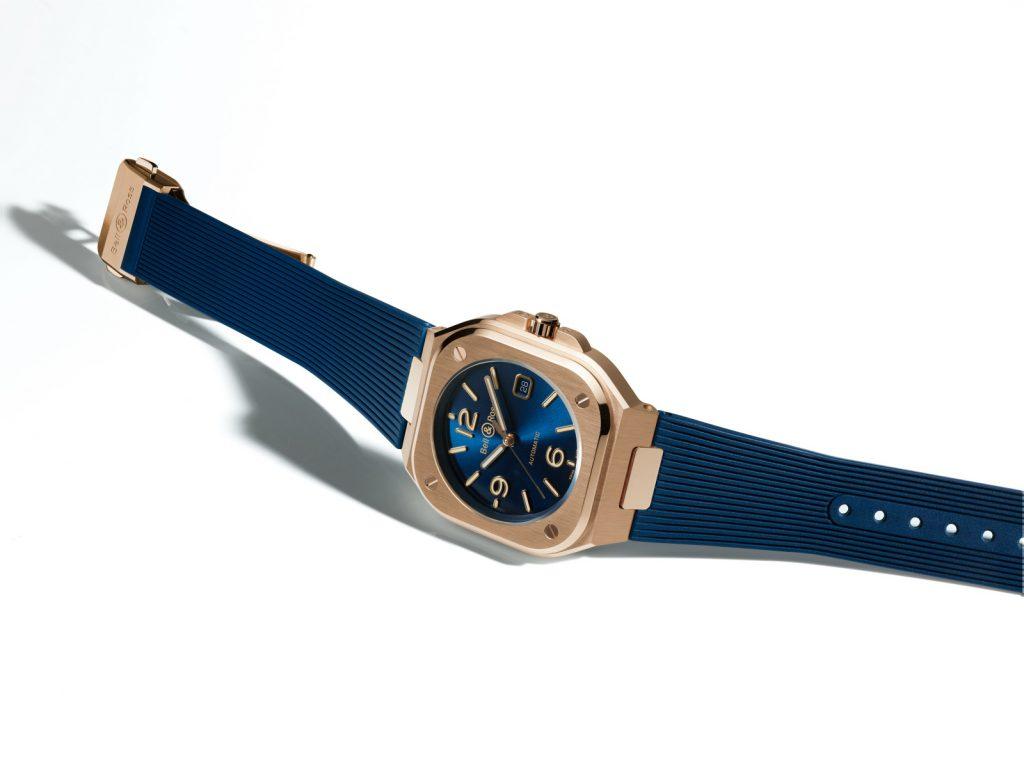 Bell & Ross BR 05 Blue Gold