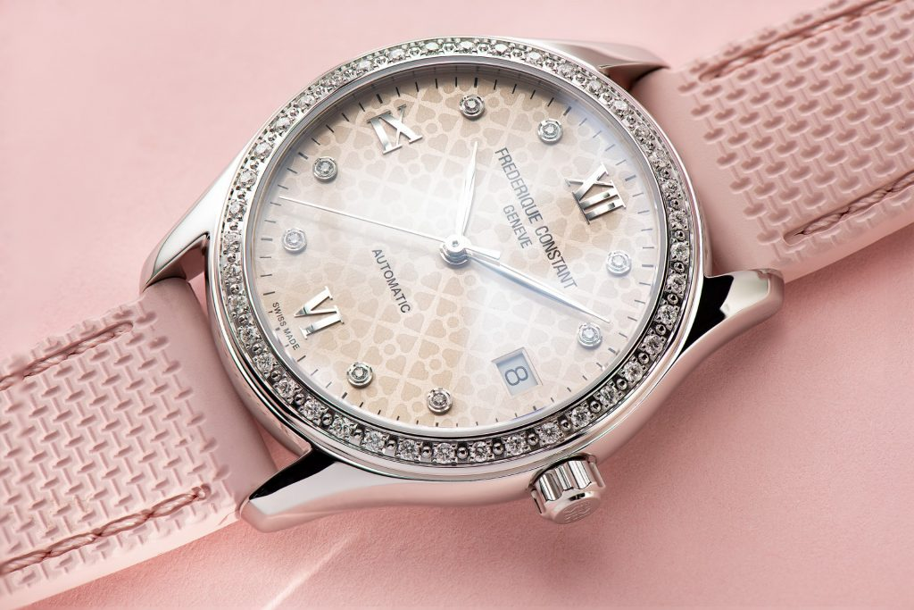 Frederique Constant Pink Ribbon Special Editions