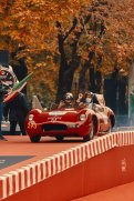 Ben Dahlhaus leaving the famous ramp of the 1000 Miglia(c) Adam Fussell