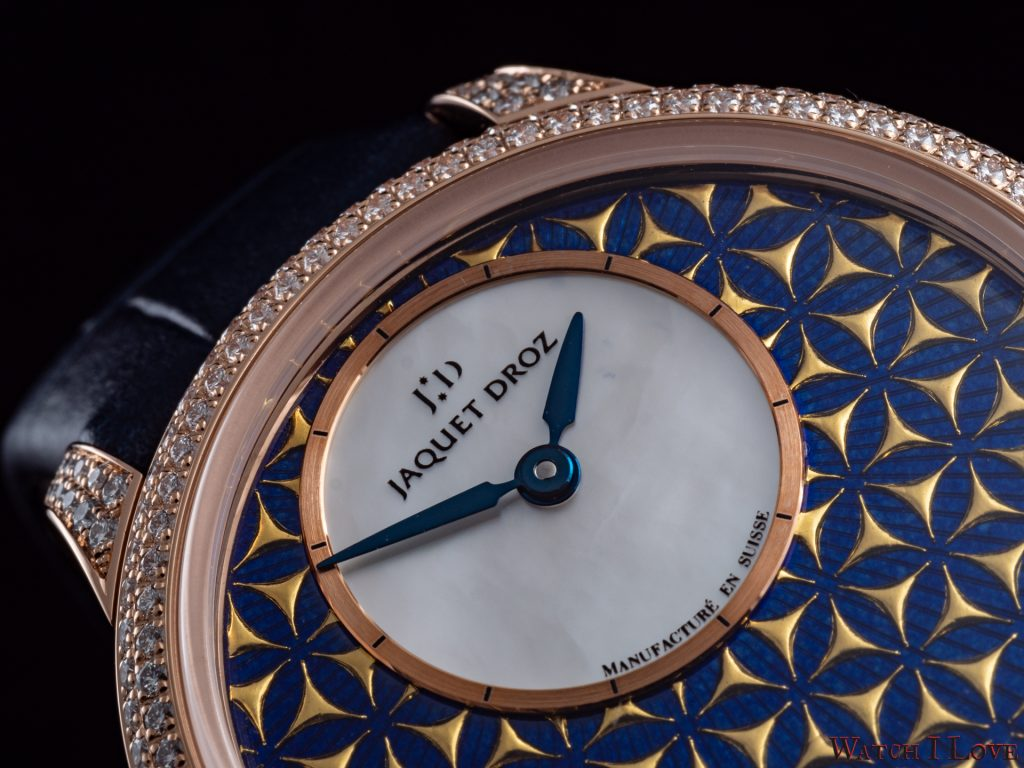 white mother-of-pearl dial