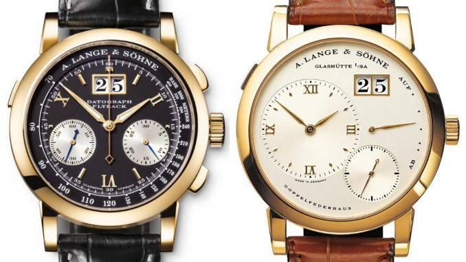 A. Lange & Söhne in high demand