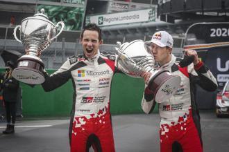 Sébastien Ogier and Mick Schumacher