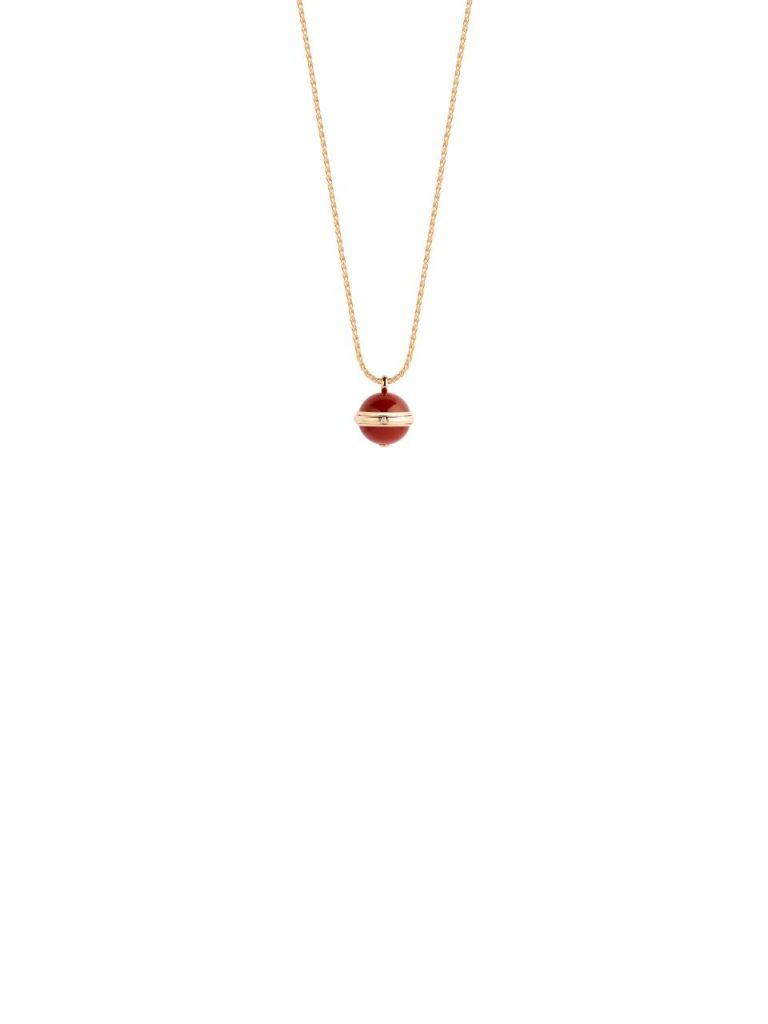 Piaget Possession Pendant Rose Gold Carnelian Reference G33PA500