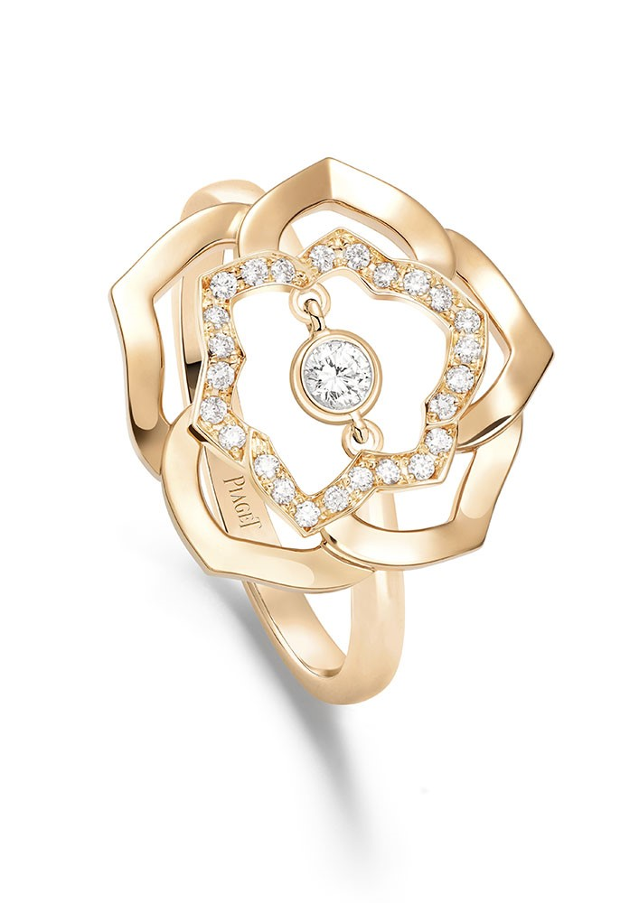 Piaget Rose Ring G34 UW 100
