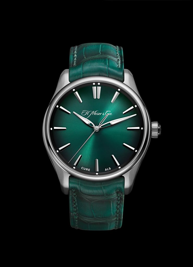 """H. Moser & Cie. Pioneer Centre Seconds """"CURE ALS"""""""