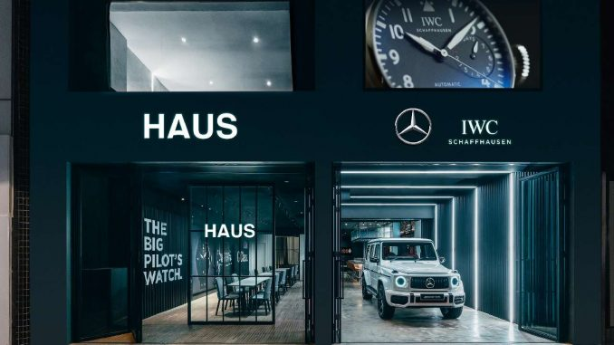 "IWC Schaffhausen and Mercedes-Benz open ""HAUS"""