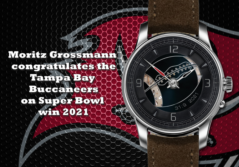 Moritz Grossmann Tampa Bay Buccaneers Super Bowl 2021