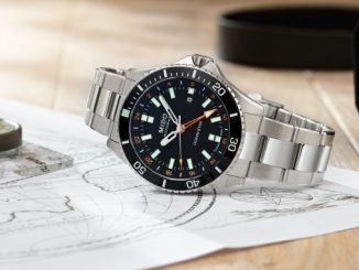 Mido Ocean Star GMT Orange