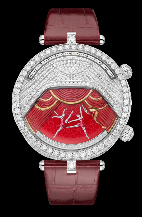 Lady Arpels Ballerine Musicale Rubis watch