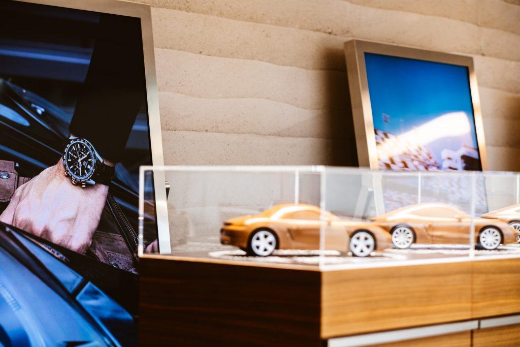 Porsche and TAG Heuer