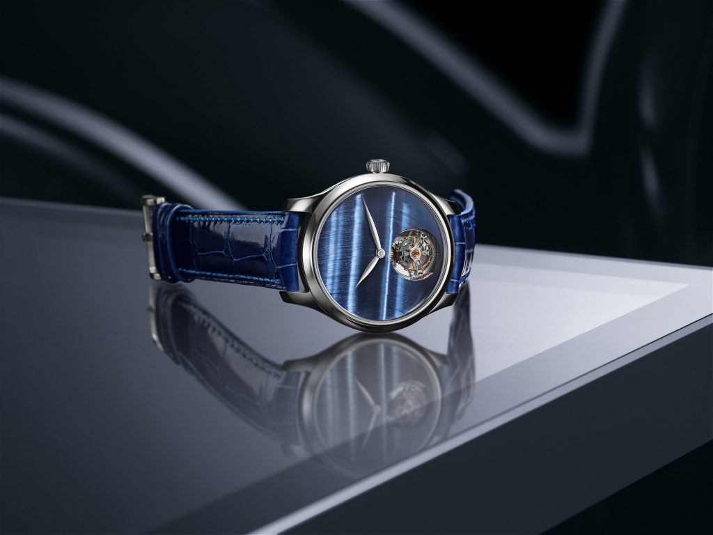 H. Moser & Cie. Endeavour Tourbillon Concept Tiger Eye