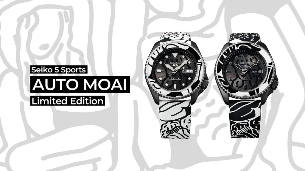 Seiko 5 Sports AUTO MOAI Limited Edition