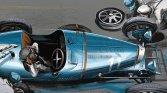 Louis Chiron wins the Grand Prix in Monaco