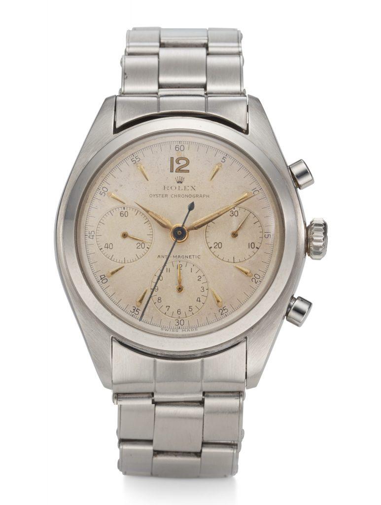 Rolex, Chronograph, Steel, Ref. 6034