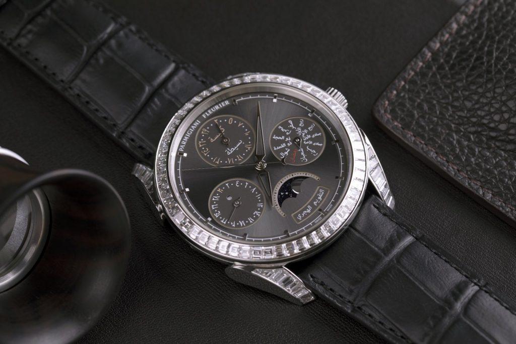 Tonda Hijri Perpetual Calendar Diamonds