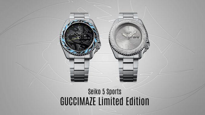 Seiko 5 Sports GUCCIMAZE Limited Edition