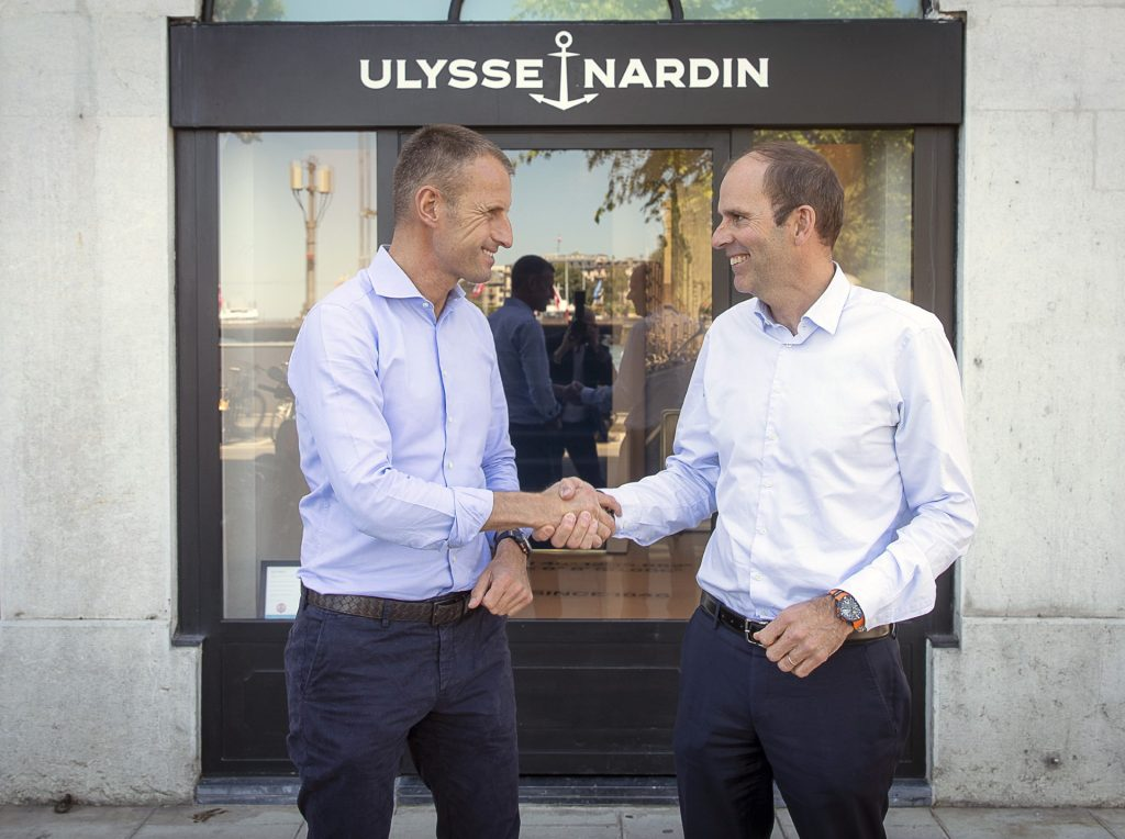 Ulysse Nardin X OCEAN RACE - Time To Act