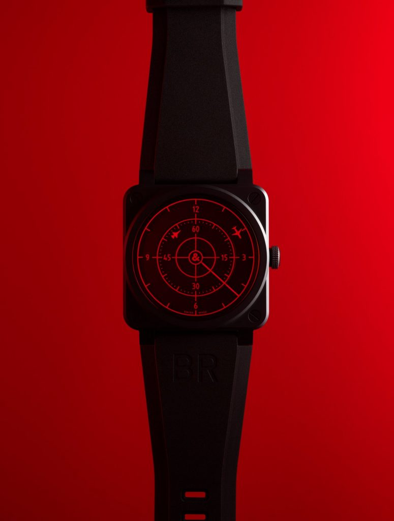 Bell & Ross BR 03 RED RADAR CERAMIC