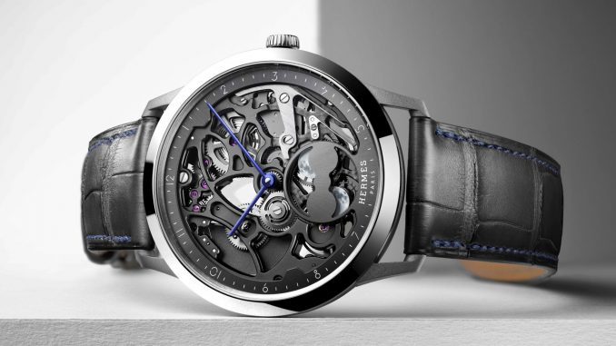 Hermès Horloger - Slim d'Hermès Squelette Lune